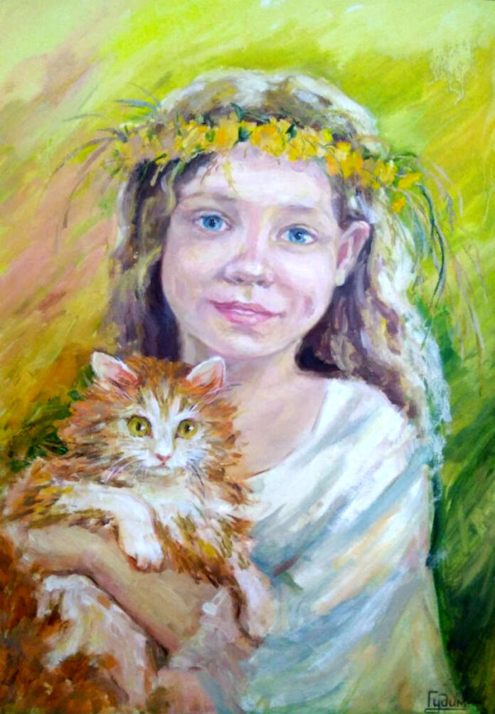 портрет карандашом фото