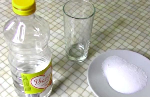 вода соль уксус фото